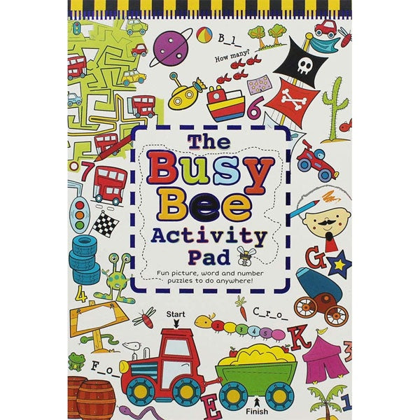 North Parade | The Busy Bee Activity Pad - Boy