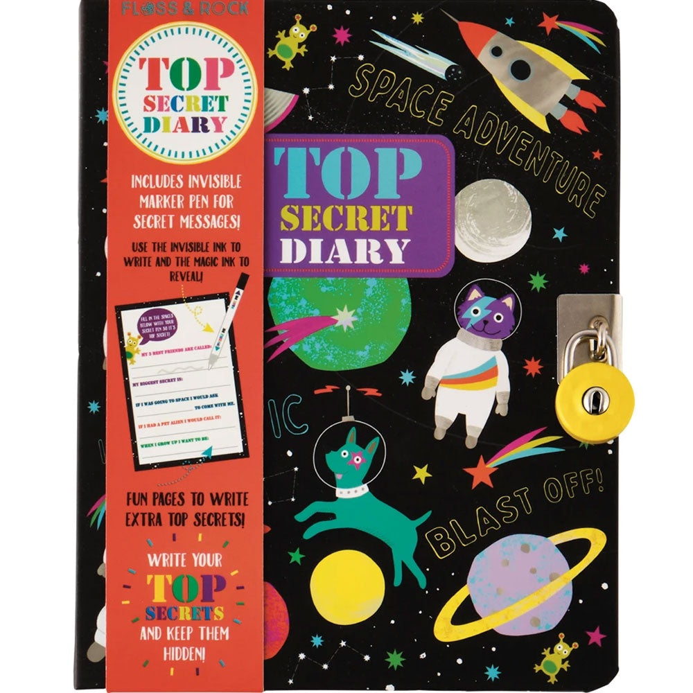 Floss And Rock | Top Secret Diary - Space