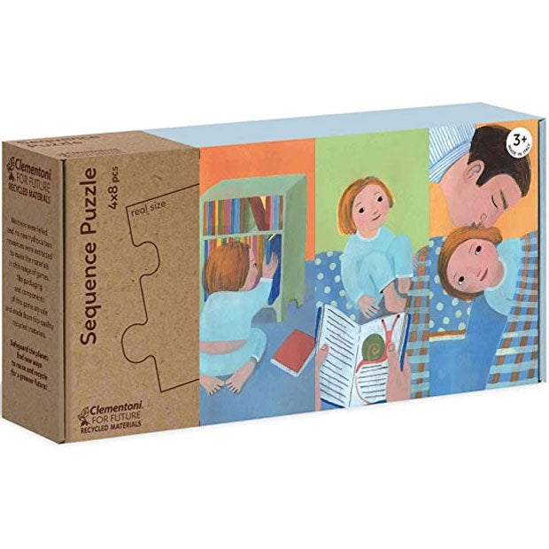 Clementoni | 4x8 Piece Sequence Puzzle - Getting Ready