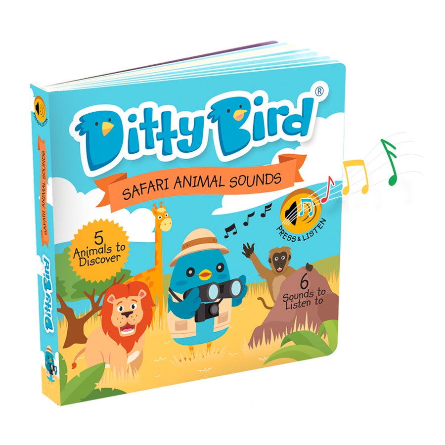 Ditty Bird | Safari Animal Sounds
