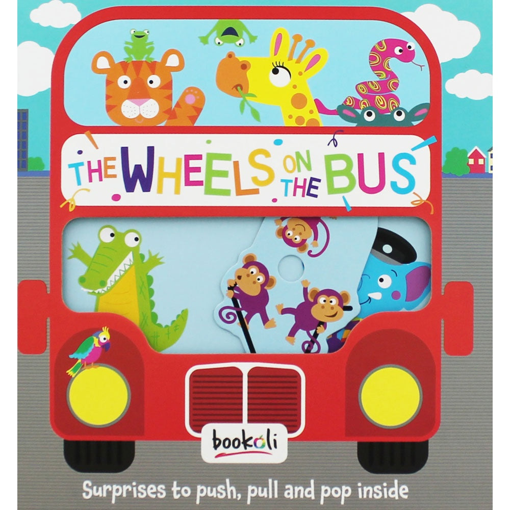 Push, Pull, Pop! | The Wheels On The Bus