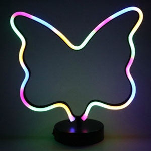 EVA | Neon Butterfly Nightlight