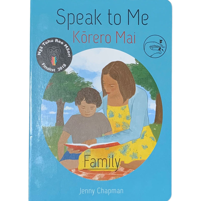 Te Reo Childrens Book | Speak To Me, Korero Mai - Family