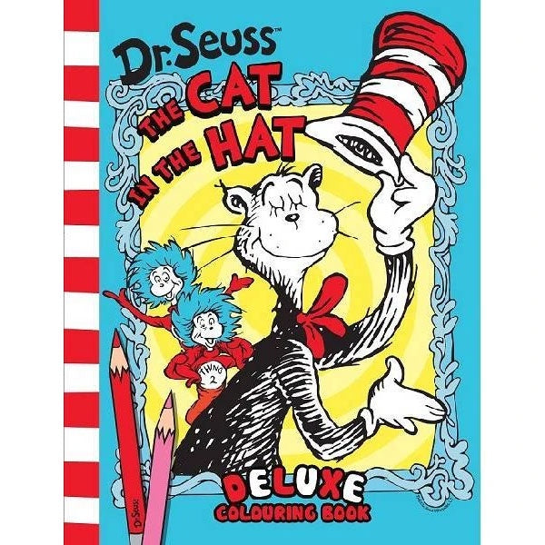 Dr Seuss Deluxe Colouring Book - The Cat In The Hat