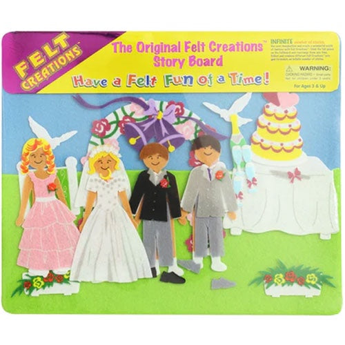 Felt Creations - Wedding