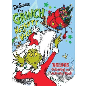 Dr Seuss | The Grinch Naughty Or Nice Deluxe - Colouring And Activity Book