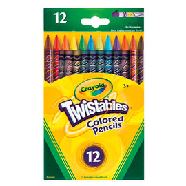 Crayola | Twistables - 12 Coloured Pencils