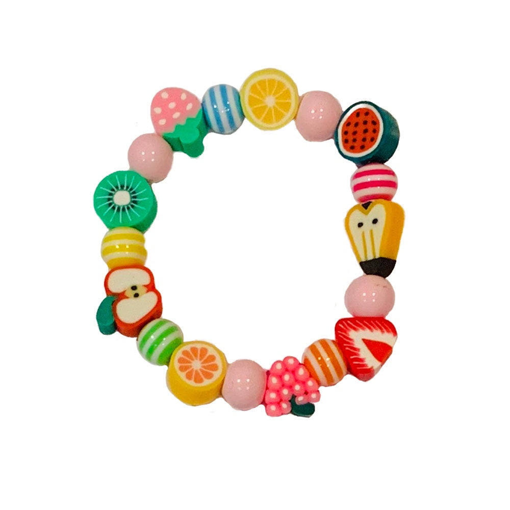 Lauren Hinkley | Fruity Elastic Bracelets