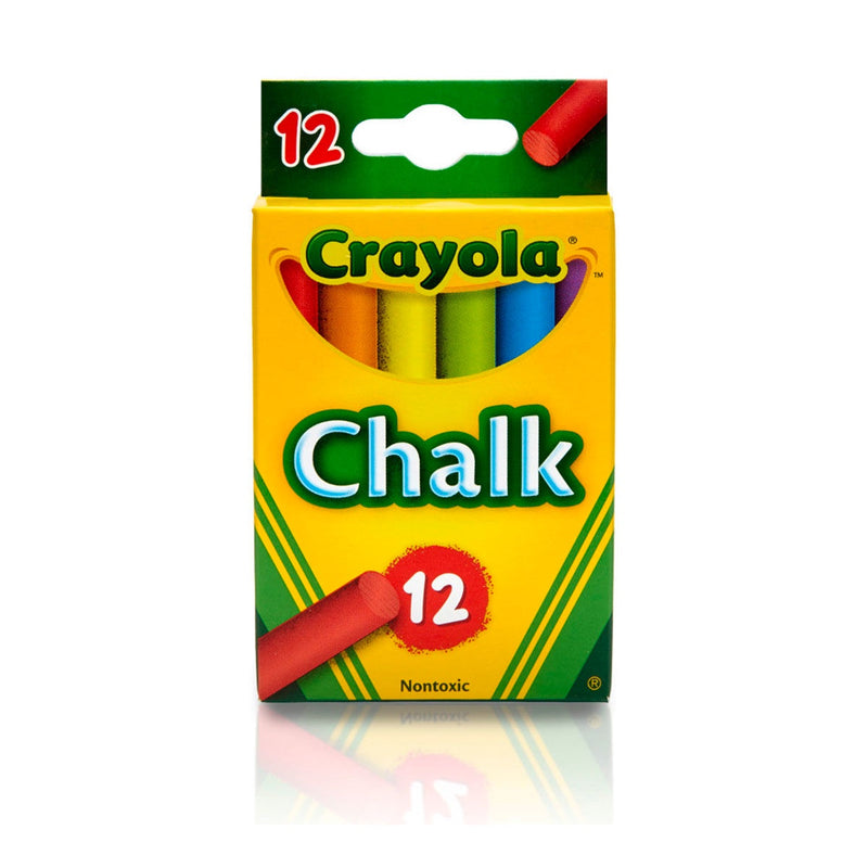 Crayola | Coloured Chalk - 12 Pack