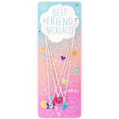 Best Friends Neclaces - Heart/Star/Butterfly