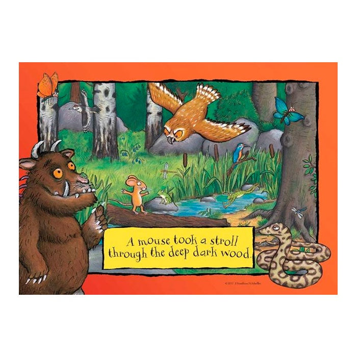 Holdson | 35 Piece Gruffalo Tray Puzzle - A Mouse Took A Stroll