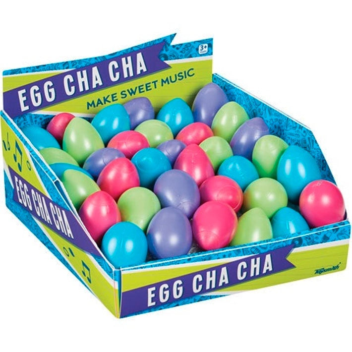Toy Smith | Egg Cha Cha Shaker - Blue