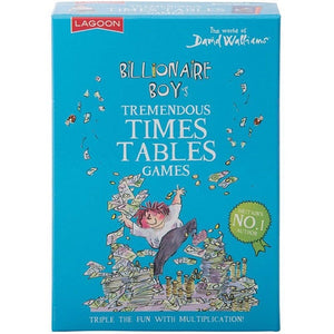 David Walliams | Billionaire Boy Tremendous Times Tables Games