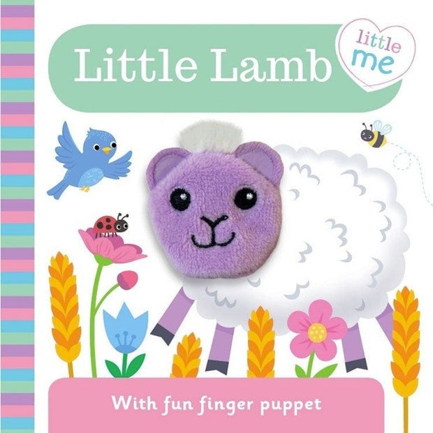 Little Me | Finger Puppet - Little Lamb
