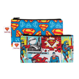 Bumkins | Small Snack Bag 2 Pack - Superman