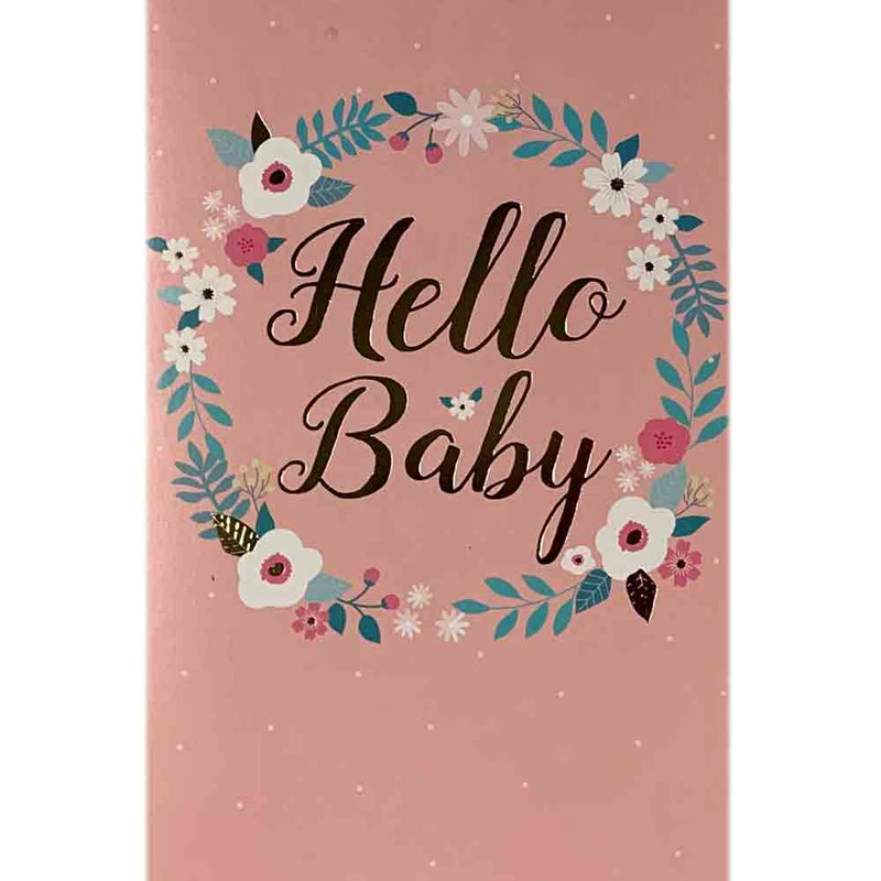 Baby Cards | Hello Baby Pink