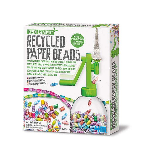 Green Creativity | Recycled Paper Beads
