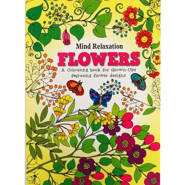 Blue Duck Books | Mind Relaxation - Flowers