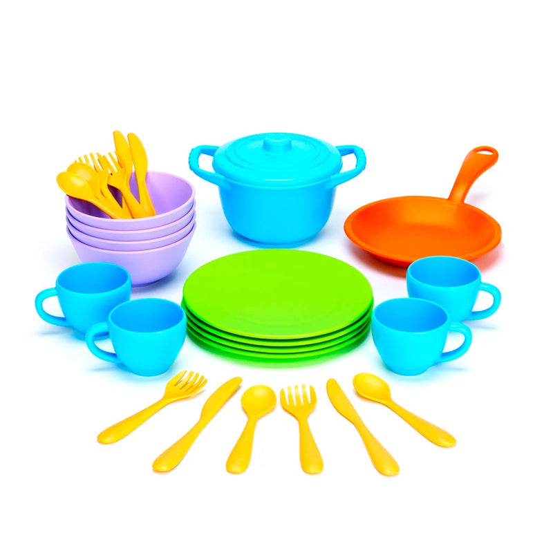 Green Toys | Cookwear and Dining Set
