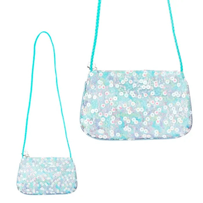 Pink Poppy | Fairy Sequin Shoulder Bag - Blue
