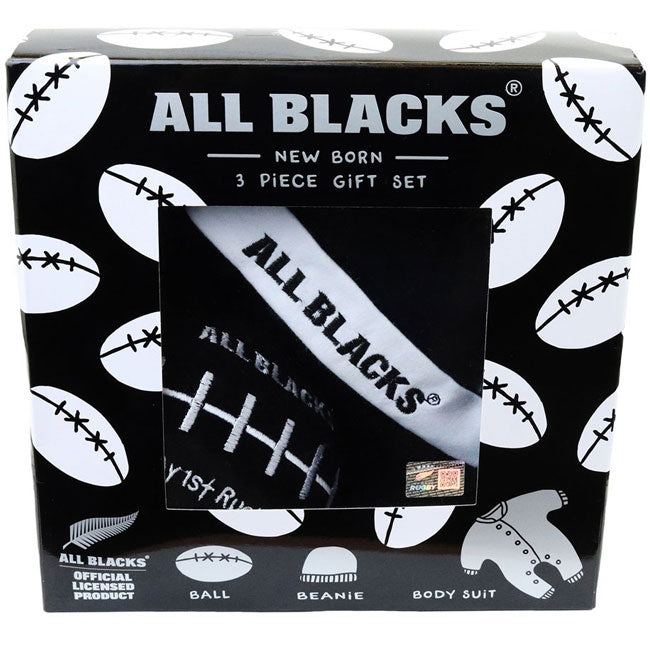 All Blacks | New Born 3 Piece Gift Set