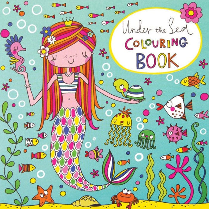 Rachel Ellen Designs | Under The Sea Colouring Book