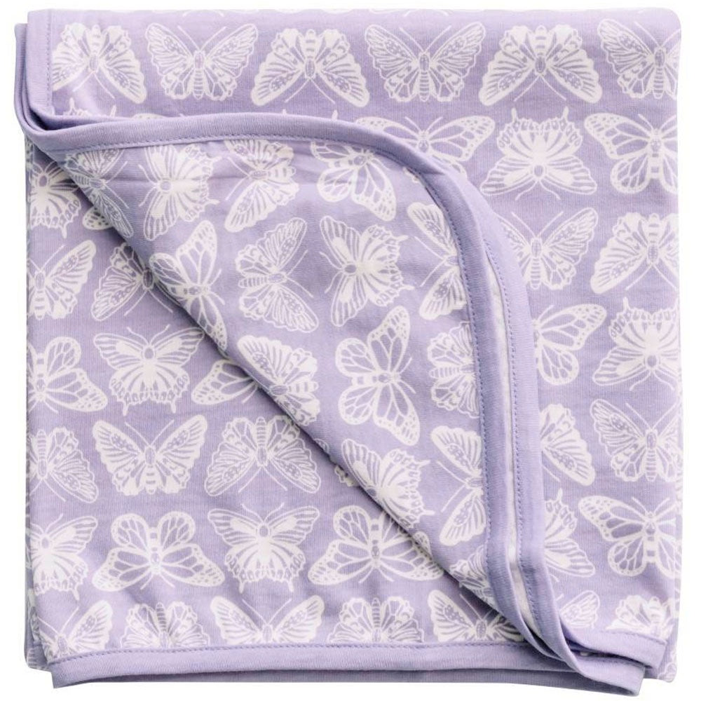 Woolbabe | Merino & Organic Cotton Swaddle/Blanket - Hebe Monarch