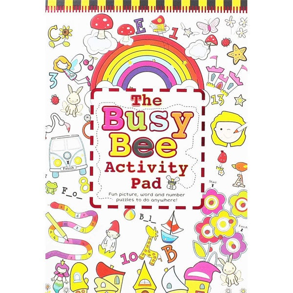 North Parade | The Busy Bee Activity Pad - Flowers and Butterflies