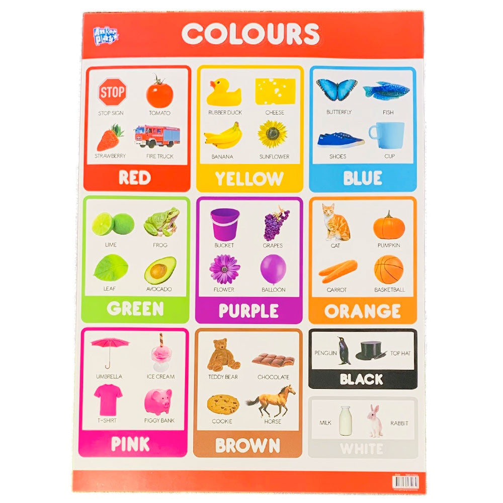 Anker Play | Educational Poster - Colours