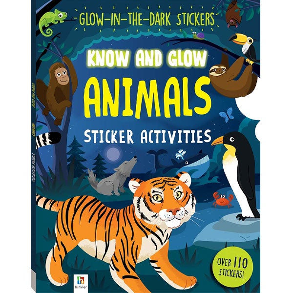 Know And Glow Animals - Sticker Activities