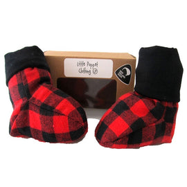 Little Poppet | Snug Boots - Red Bush Shirt