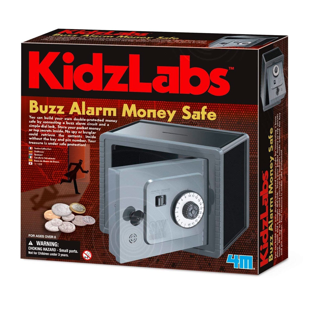 KidzLabs | Buzz Alarm Money Safe