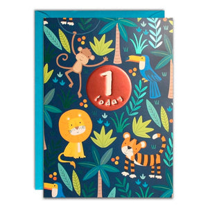 James Ellis | Birthday Cards 1 Today - Blue Jungle