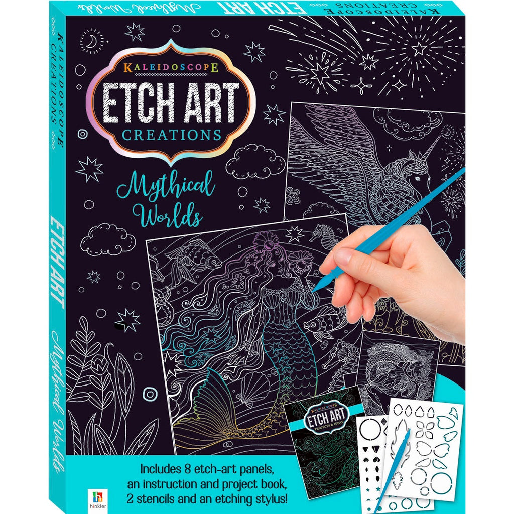 Hinkler | Etch Art Creations - Mythical Worlds