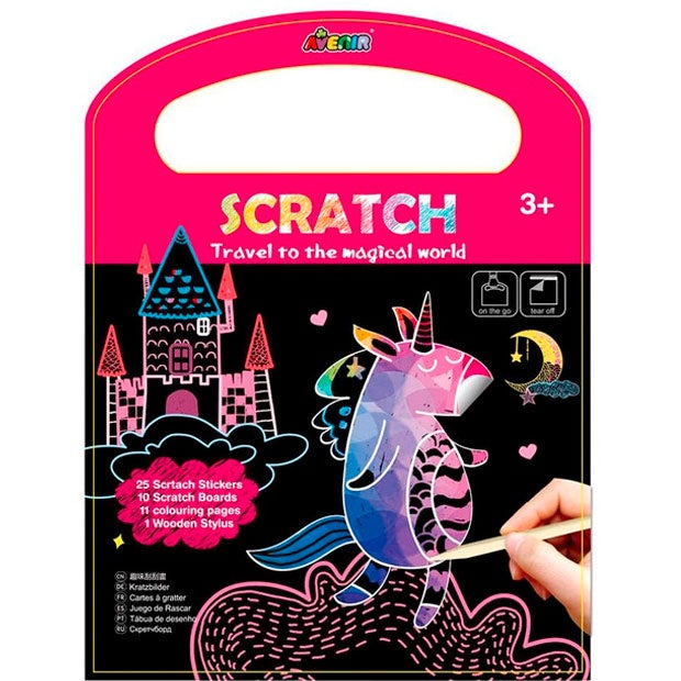 Avenir | Scratch Book - Unicorns