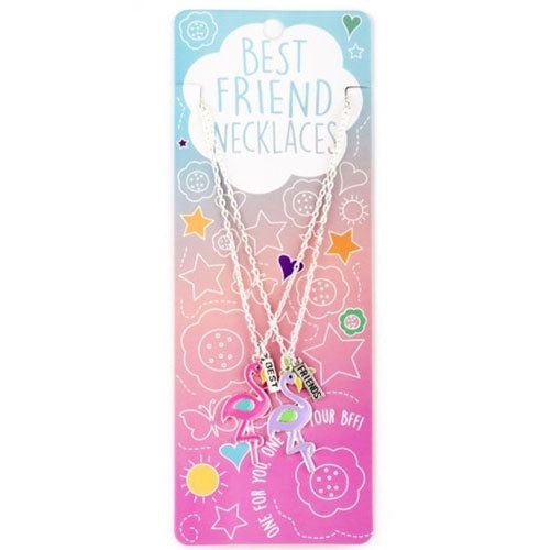Best Friends Necklace - Flamingo