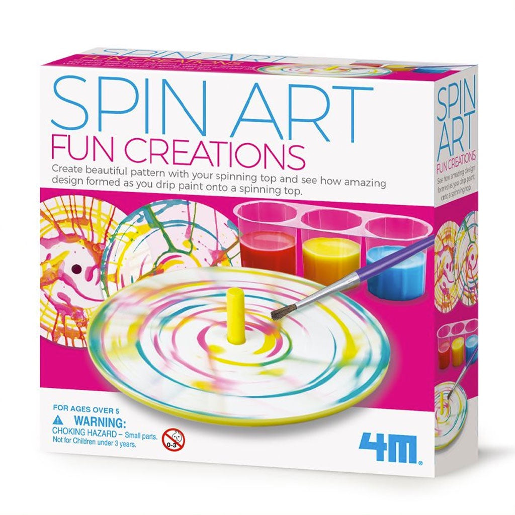 4M | Spin Art Fun Creations