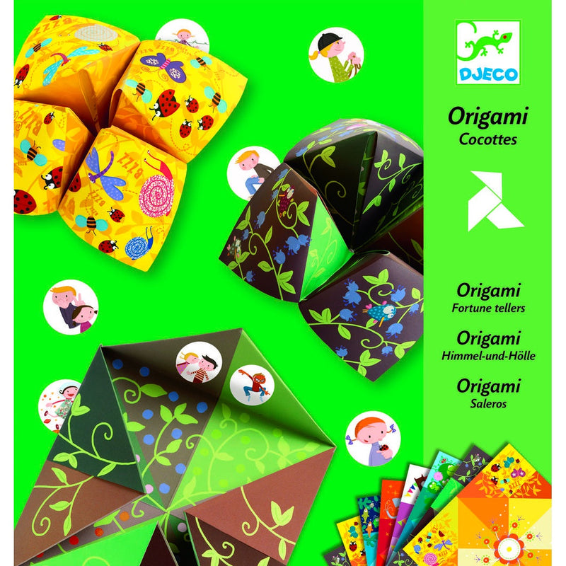 Djeco | An Introduction to Origami - Fortune Tells Animals
