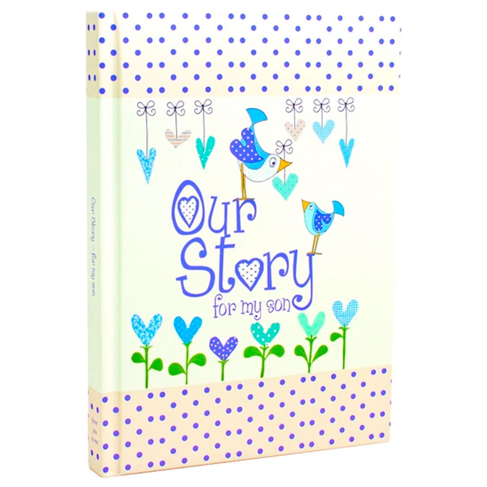 Memory Book | Our Story - For My Son