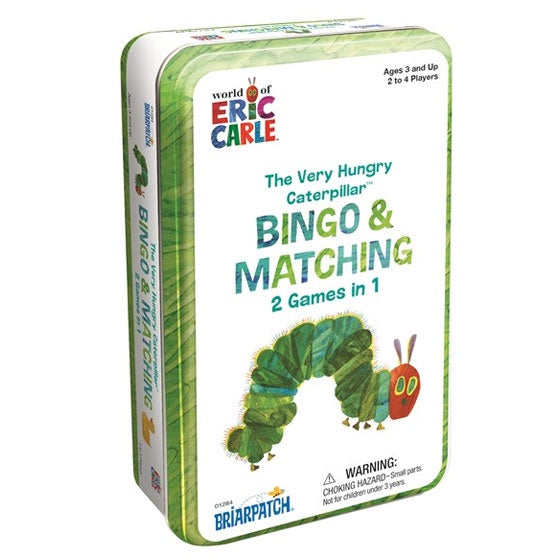 Eric Carle | The Very Hungry Caterpillar - Bingo and Matching 2 Games In 1