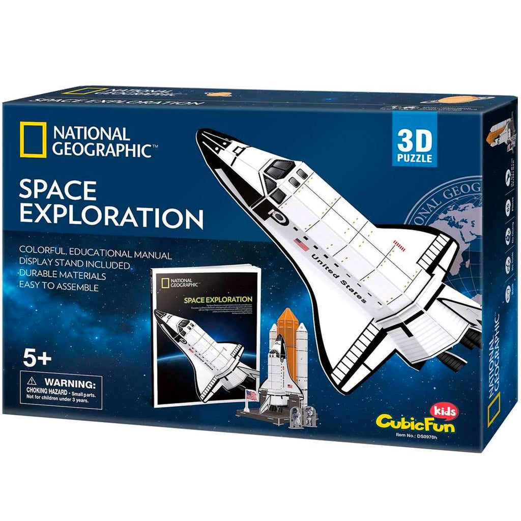 National Geographic | 3D Puzzle - Space Exploration