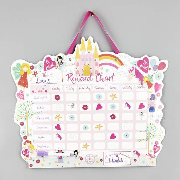 Floss & Rock | Reward Chart - Fairy Unicorn