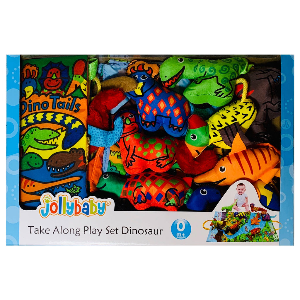 Jolly Baby | Take Along Play Set - Dinosaur