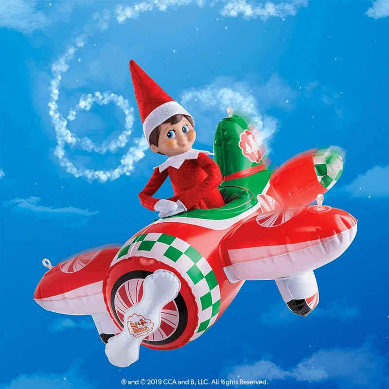 Elf On The Shelf | Peppermint Plane
