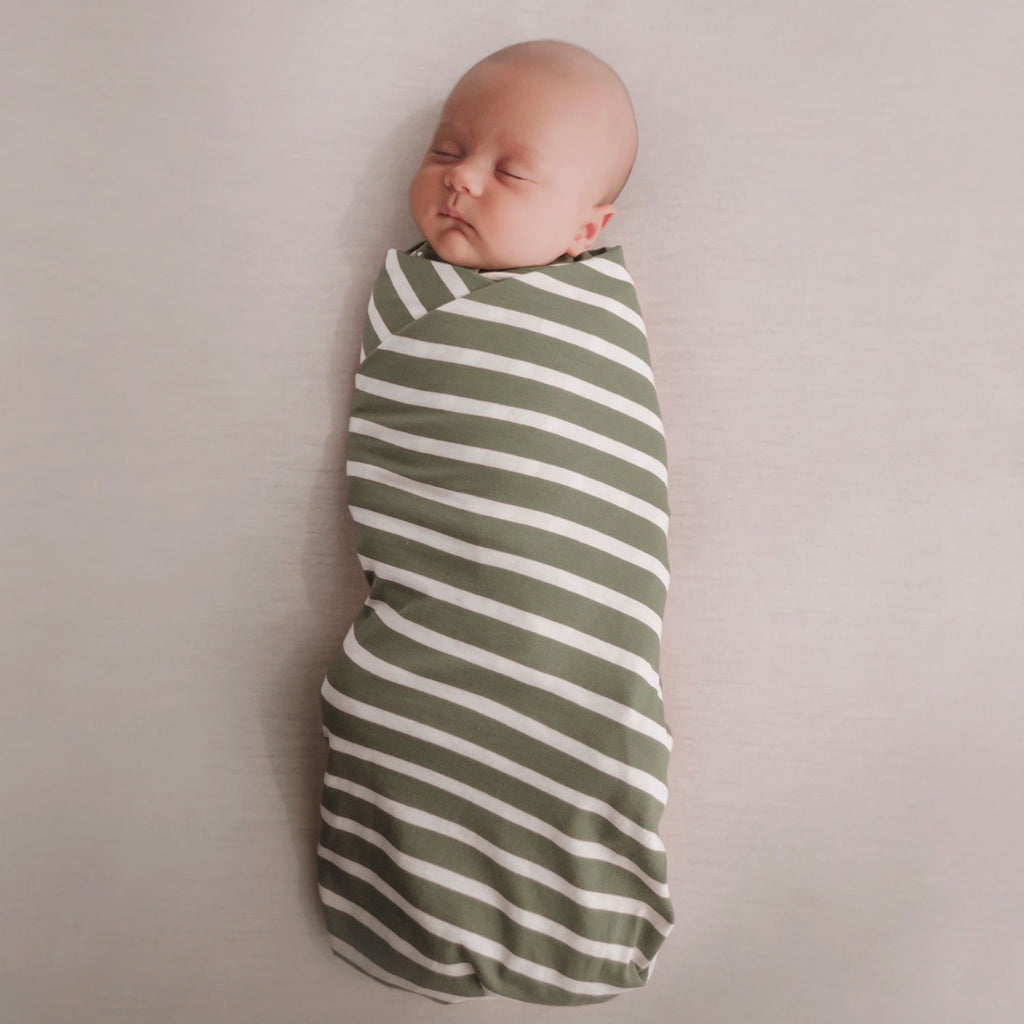Woolbabe | Merino & Organic Cotton Swaddle/Blanket - Fern
