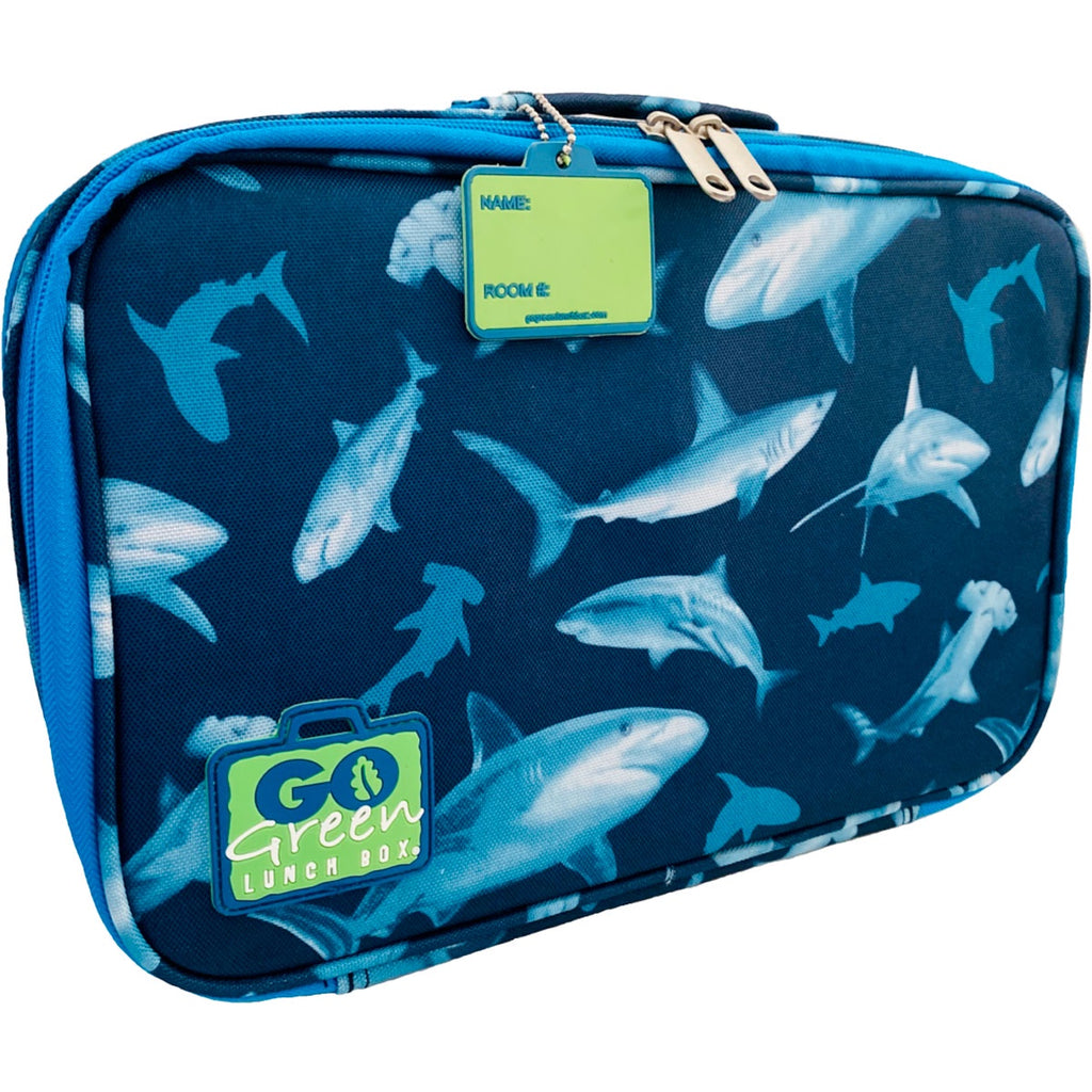 Go Green | Insulated Lunch Set - Shark Frenzy