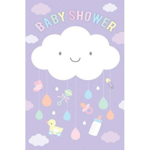 Baby Shower Card | Baby Shower - Cloud