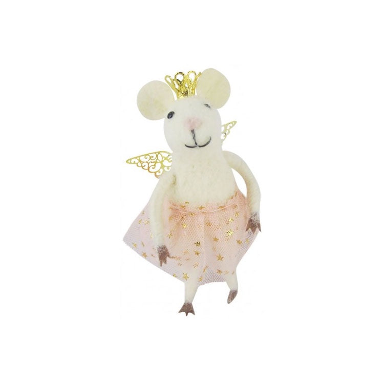Urban Products | Hanging Felt Mouse with Tutu 11cm