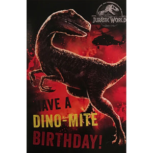 Birthday Card | Jurassic World - Dino-Mite Birthday