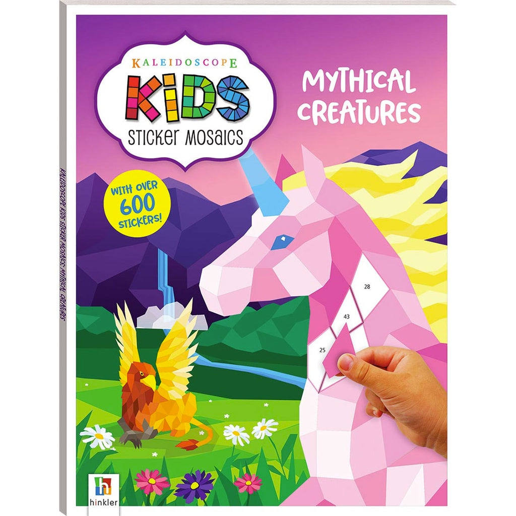 Hinkler | Kaleidoscope Kids Sticker Mosaics - Mythical Creatures